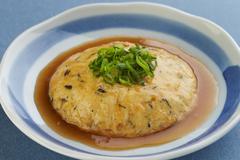 豆腐とひじきのレンジ蒸し