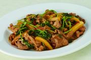 豚肉とパプリカのピリ辛炒め